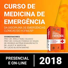 Curso de Medicina de Emergência da Disciplina de Emergências Clínicas do HCFMUSP 2018