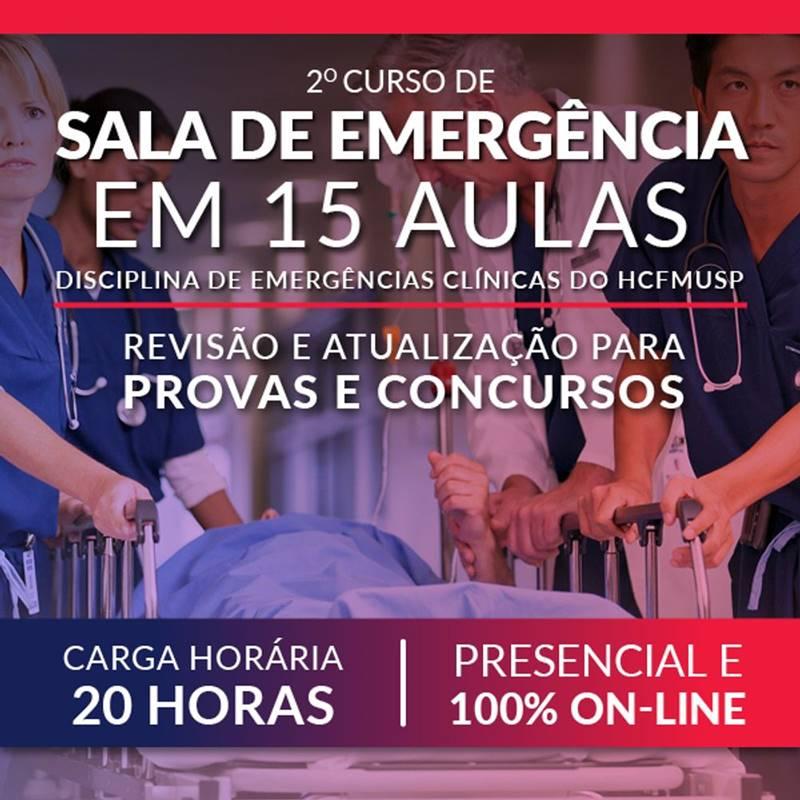 Sala de Emergência em 15 aulas