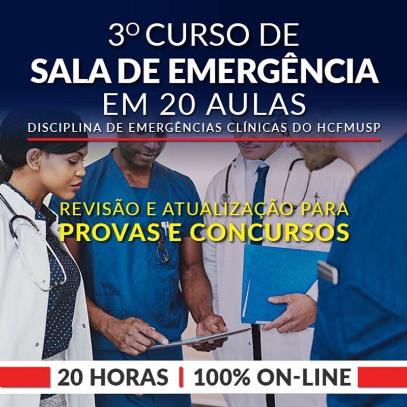 Sala de Emergência em 20 aulas