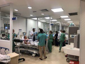 Visita ao pronto-socorro de clínica médica do HC-FMUSP